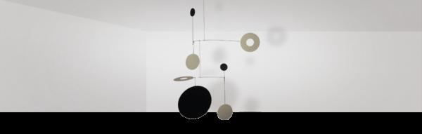 Mobilé – Salu (matt lackiert) –Raumbild
