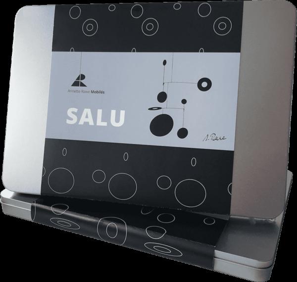 Mobilé –Salu (matt lackiert) – Verpackung